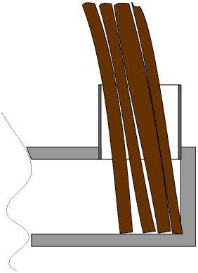 Peter van den Berg impact of wood position in rocket heater.